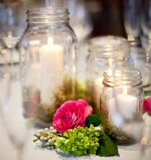 inexpensive centerpiece ideas low budget decor that still makes an impact small flowers jar
