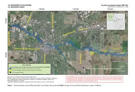 State Plane Coordinate System Map by Scientific Investigations Report 2008 5234 Development Of A Flood