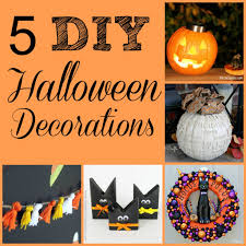 halloween decorations to make yourself five spooky diy halloween decorations