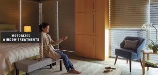 motorized window treatments hubbard u0027s custom blinds u0026 framing