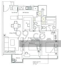 kovan melody floor plan kovan melody 13 kovan road 2 bedrooms 904 sqft condominiums