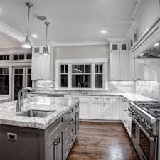 White Cabinets Granite Countertops Kitchen Kitchen Dining White Granite White Cabinets Backsplash Ideas