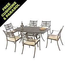 Cast Aluminium Outdoor Furniture by Cast Aluminium Outdoor Furniture Sets Dining Tables And Chairs