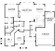 Single Story House Floor Plans One House Floor Plans
