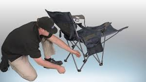 Travel Chair Big Bubba Kamp Rite Chair With Detachable Footrest Youtube