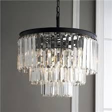 Crystal Glass Chandelier Great Long Glass Chandelier Prism Glass Fringe Chandelier Fringes