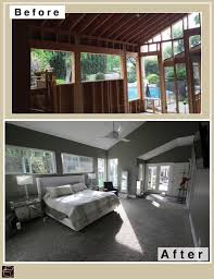 bedroom before and after master bedroom room addition before after