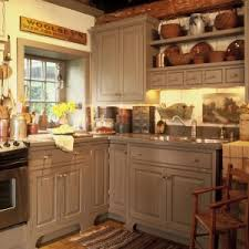 english rustic corner small kitchen design come with grey granite