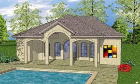 pool house plans with bedroom pool house house pool houses house elevation