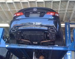 lexus isf aftermarket exhaust clicking noise from rear left wheel area clublexus lexus forum