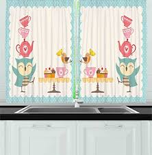 compare price to owl kitchen curtains filippospizzasarasota com