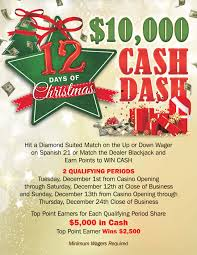 12 days christmas dash dollar casino seatac