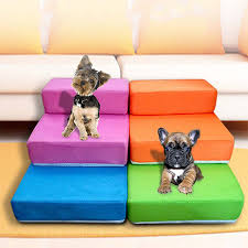 aliexpress com buy breathable mesh foldable pet stairs