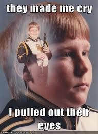 Drum Corps Memes - ptsd clarinet boy ptsd clarinet boy know your meme