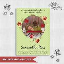 my belle michelle personalized photo christmas cards for the