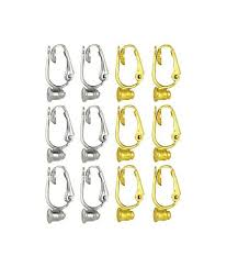 clip on earring converter clip on earring converter 12 pair turn any post or stud earring
