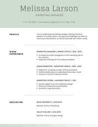 Resume Templates For Mac Also by Simple Resume Templates Canva