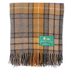 Brown Tartan Rug New Bnwt Scottish Throw Large Wool Tartan Rug Range Of Tartans