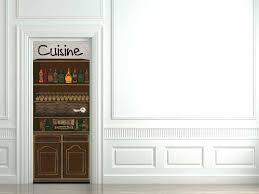 stickers porte cuisine stickers pour porte cuisine home design nouveau et amélioré