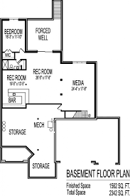 Finished Walkout Basement Floor Plans Design A Basement Floor Plan Floor Plans For Ranch Homes With