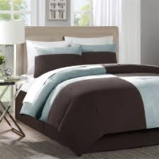 decorative bedroom decorating ideas blue and brown