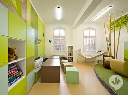 bedroom amazing kids room decor with green wall color and