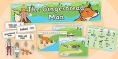 the gingerbread man themed display lettering gingerbread man