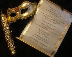 Scroll Invitation Rods Make Scroll Invitations Afoodaffair Me