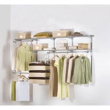 Closet Organizer Rubbermaid Closets White Deluxe Rubbermaid Closet With Shelves For Home