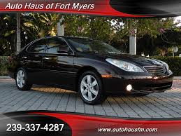 lexus sedan 2005 2005 lexus es 330 ft myers fl for sale in fort myers fl stock