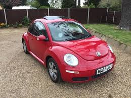 vw beetle 1 4 luna with sunroof 2007 very low miles in norwich
