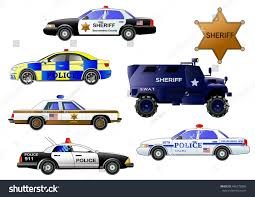 police armored vehicles police cars vector set armored police stock vector 446572804