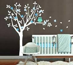 arbre chambre bébé 3 daccoration avec stickers muraux spaccial chambre bacbac stickers