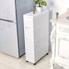 kitchen storage cabinet unit shozafia narrow slim rolling storage cart and organizer 7 1 inches kitchen storage cabinet beside fridge small plastic rolling shelf with drawers for