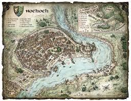 Dnd Maps Mike Schley U0027s Portfolio Fictional City Maps