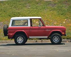 concept bronco restomod 1968 ford bronco 302 v8