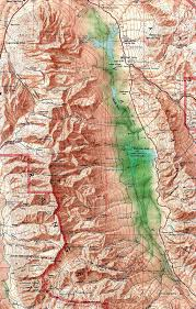 San Francisco Topographic Map by Nevada Maps Perry Castañeda Map Collection Ut Library Online