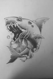 shark sketch rarrrr by artisticrender on deviantart
