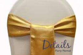 yellow chair sashes details party rental satin chair sashes linens bows organza