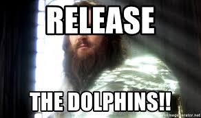 Release The Kraken Meme Generator - release the dolphins zeus release the kraken meme generator
