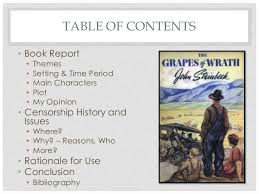 grapes of wrath themes and symbols the grapes of wrath sle presentation