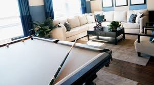 Custom Pool Tables by Custom Billiards Cloth And Two Tone Felting And Rails