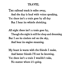 travel poems images Poem quot travel quot edna st vincent millay hail poetry png