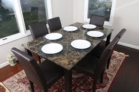 marble dining table set for transformative look