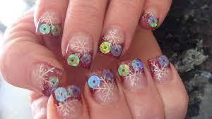 nail art candy cane nails
