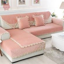 Plush Sofa Cover Popular Pink Sectional Sofa Buy Cheap Pink Sectional Sofa Lots