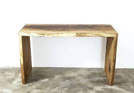 Modern Design Desk Solid Oak Desk Waterfall Writing Table Modern Design Computer