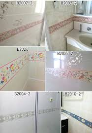 Wallpaper Borders For Bathrooms Solid White Wallpaper Border Bathroom Inch Wide Borders Cheap Wall