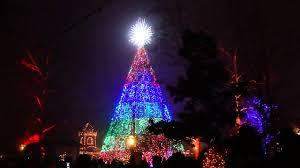 silver dollar city christmas tree branson mo 12 4 14 youtube