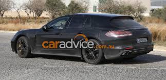 2017 Porsche Panamera Wagon And Interior Spied Photos 1 Of 11